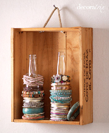 Бутылки для хранения украшений. Фенечки из мулине. Схемы фенечек. Как плести фенечки