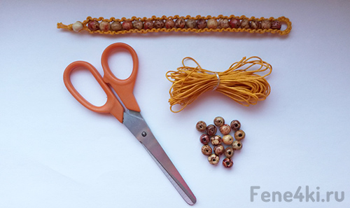 Схема плетения браслета-фенечки Бохо. Фенечки из мулине. Схемы фенечек. Как плести фенечки