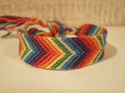 Chevron Friendship Bracelet. Friendship Bracelets. Bracelet Patterns. How to make bracelets