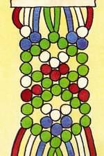 Схема фенечки Елочка. Фенечки из мулине. Схемы фенечек. Как плести фенечки