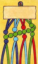 Схема фенечки Лесенка. Фенечки из мулине. Схемы фенечек. Как плести фенечки