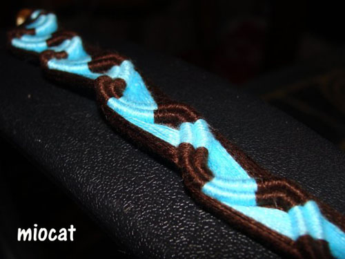 Peruvian Wave Bracelet. Friendship Bracelets. Bracelet Patterns. How to make bracelets