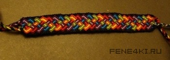 Схема плетения радужной фенечки. Фенечки из мулине. Схемы фенечек. Как плести фенечки