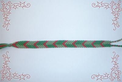 Alternating Chevron Bracelet. Friendship Bracelets. Bracelet Patterns. How to make bracelets