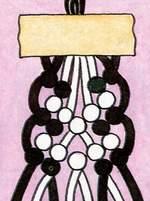Фенечки схема веревочка