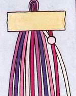 Схема фенечки Зигзаг. Фенечки из мулине. Схемы фенечек. Как плести фенечки