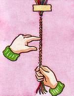 Схема шнурка. Фенечки из мулине. Схемы фенечек. Как плести фенечки