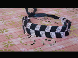 Flat Ribbon Bracelet. Friendship Bracelets. Bracelet Patterns. How to make bracelets