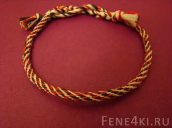 Stripe Kumihimo Bracelet. Friendship Bracelets. Bracelet Patterns. How to make bracelets