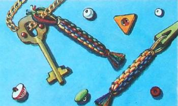Плетение квадратного жгута. Фенечки из мулине. Схемы фенечек. Как плести фенечки