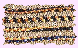 Square Kumihimo Bracelets. Friendship Bracelets. Bracelet Patterns. How to make bracelets