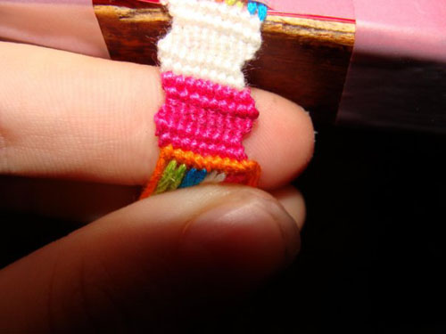 Zigzag Bracelet Tutorial. Friendship Bracelets. Bracelet Patterns. How to make bracelets