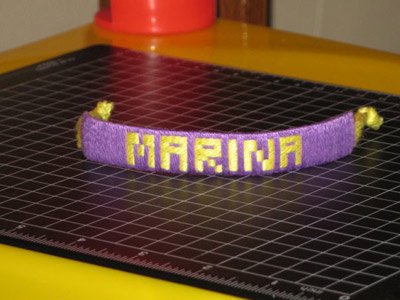 Name bracelet. Friendship Bracelets. Bracelet Patterns. How to make bracelets