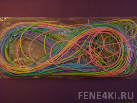 Схема плетения макраме брелка