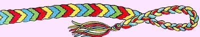 Chevron Bracelet. Friendship Bracelets. Bracelet Patterns. How to make bracelets